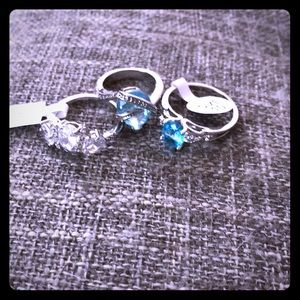 3 CZ cocktail rings!